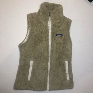 Women's New Patagonia fleece vest